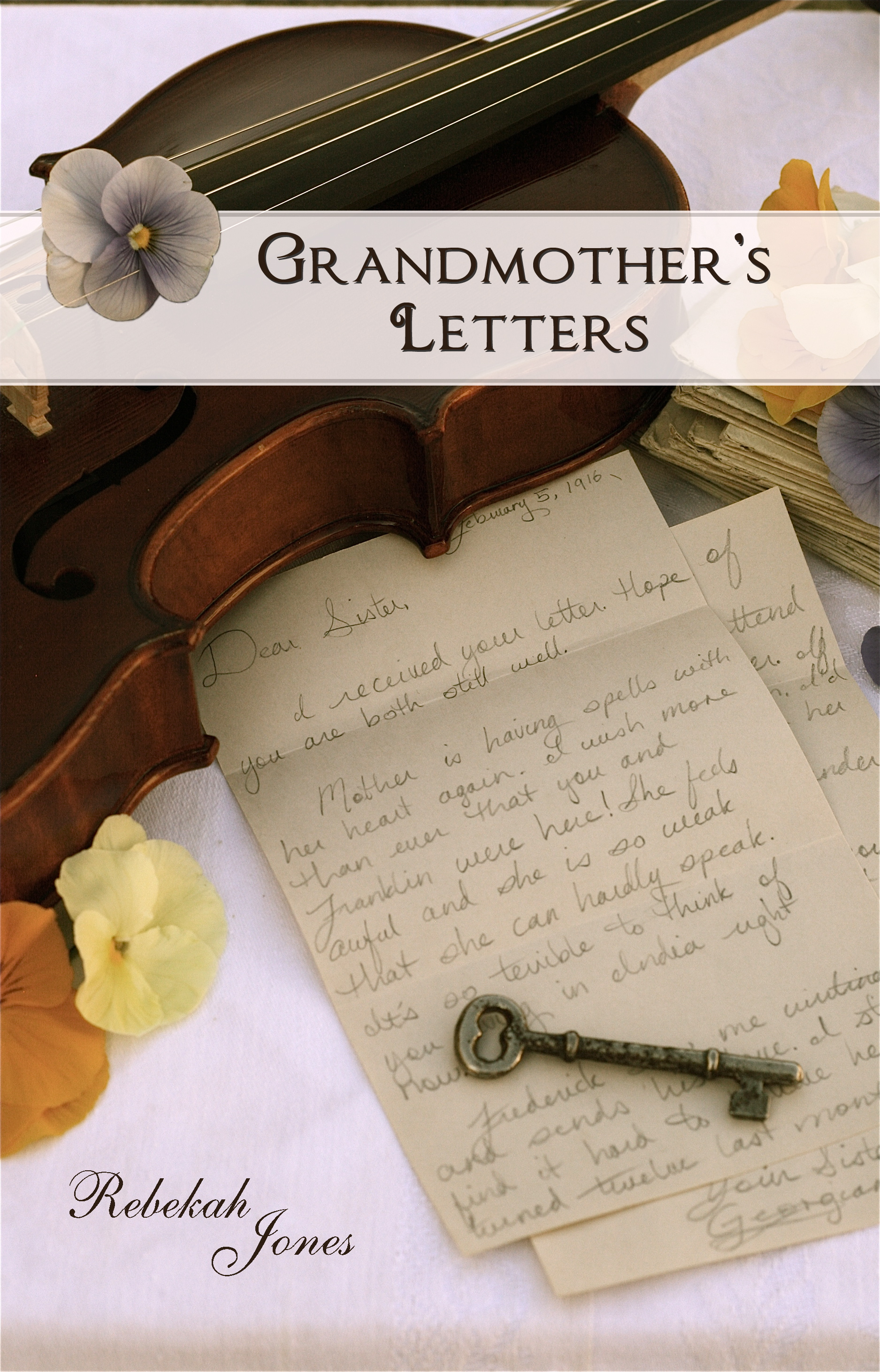 Front Cover - 3 - Grandmother's Letters